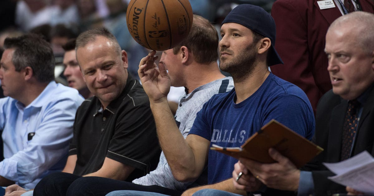 81716707f76a Tony Romo suiting up for the Dallas Mavericks is a joke and Mark Cuban is  the jester