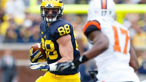 75. Bills: Jake Butt, TE, Michigan