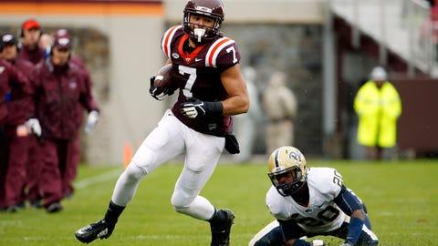 105. Steelers: Bucky Hodges, TE, Virginia Tech
