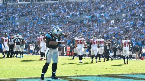 Carolina Panthers at New England Patriots (Week 4, 1 p.m.)
