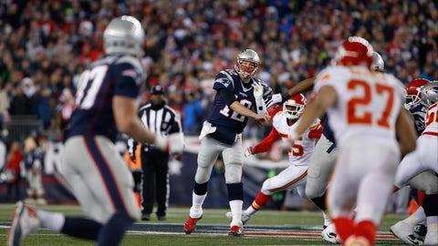 Kansas City Chiefs at New England Patriots (Week 1, 8:30 p.m. Thursday)