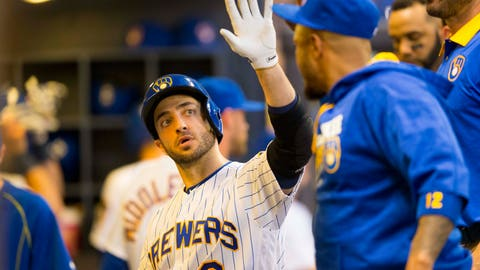 Milwaukee Brewers: 806-814 (.498)