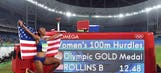 Olympic hurdles champion Brianna Rollins banned for doping whereabouts mix-up