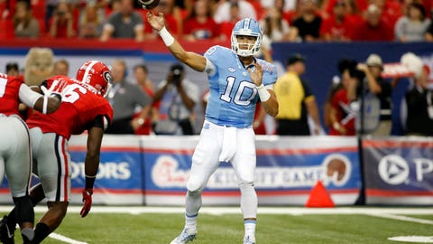 Quarterbacks from mid-level programs have a better chance at succeeding
