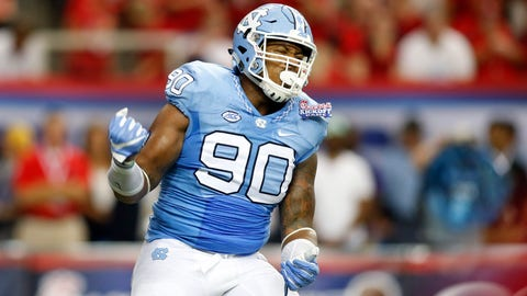 102. Seattle Seahawks: Nazair Jones, DT, North Carolina