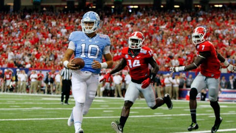 Mitchell Trubisky better hope he doesn't go No. 1