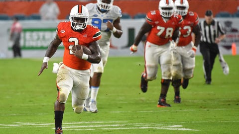 Joe Yearby, RB, Miami
