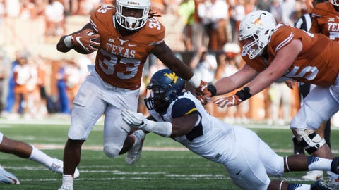 64. Panthers: D'Onta Foreman - RB - Texas