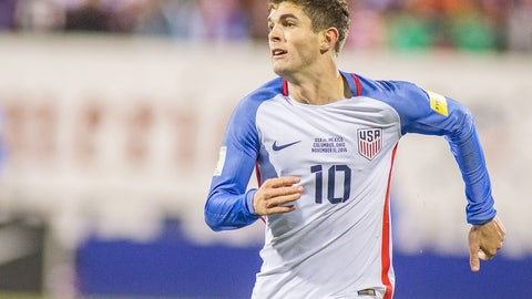 A 26-year-old Christian Pulisic will be entering his prime