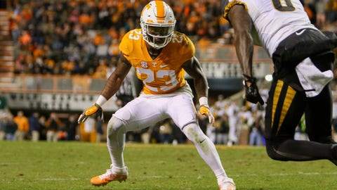 Cameron Sutton, CB, Tennessee
