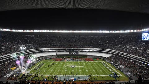 New England Patriots vs. Oakland Raiders (Mexico; Week 11, 4:25 p.m.)