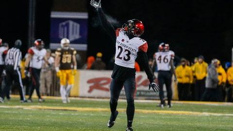 85. Lions: Damontae Kazee, CB, San Diego State