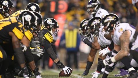 Baltimore Ravens at Pittsburgh Steelers (Week 14, 8:30 p.m. Sunday)