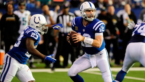 The Colts have to get someone who can protect Luck and keep him healthy