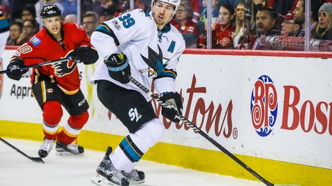 Logan Couture, F, San Jose Sharks