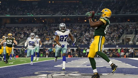 October 8: Green Bay Packers at Dallas Cowboys, 4:25 p.m. ET