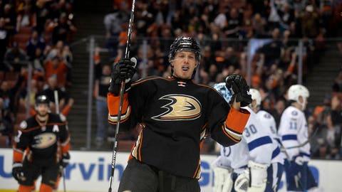 Rickard Rakell, F, Anaheim Ducks