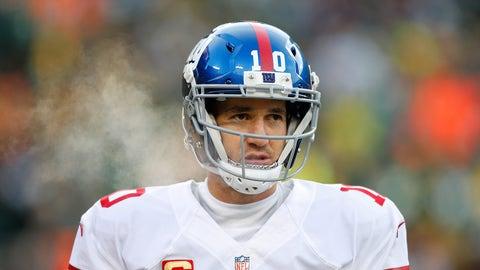 Eli Manning: 108-91 (.543)