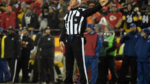 The NFL wants officials to take the heat from fans