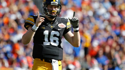 104. San Francisco 49ers (via trade with Kansas City Chiefs): C.J. Beathard, QB, Iowa