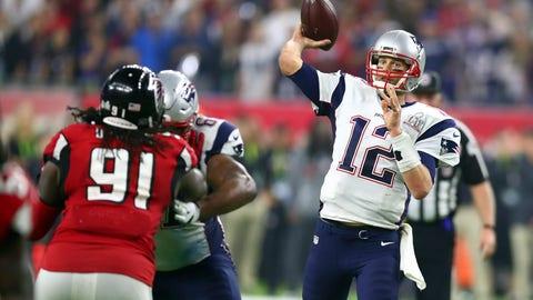 October 22: Atlanta Falcons at New England Patriots, 8:30 p.m. ET