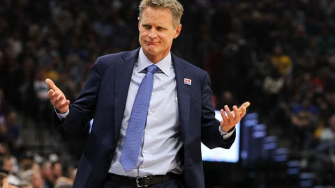 Steve Kerr's bizarre rotations will put the Warriors in a series hole