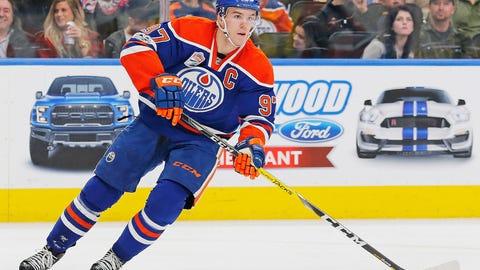 Connor McDavid, C, Edmonton Oilers