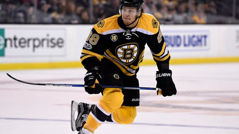 David Pastrnak, RW, Boston Bruins