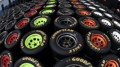 Tons of tires