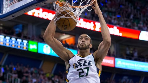 The Warriors have no answer for Rudy Gobert