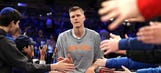 Kristaps Porzingis has every right to be furious with the New York Knicks