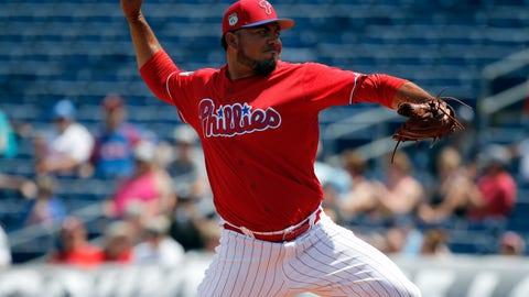 Philadelphia Phillies: Joaquin Benoit, RP(39)