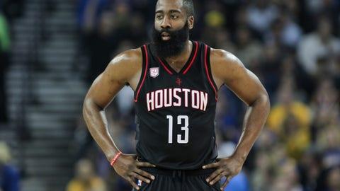 SG: James Harden, Houston Rockets