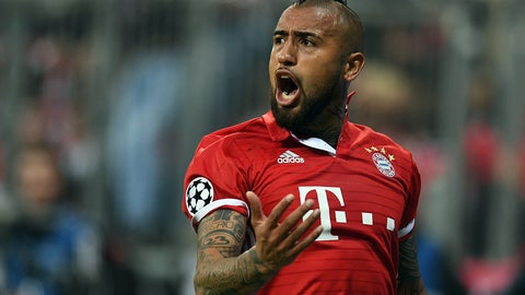 Center midfield - Arturo Vidal