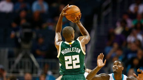 Most valuable player: Khris Middleton