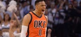 Watch Russell Westbrook's testy exchange with a reporter after Thunder's Game 4 loss to Rockets