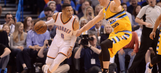 Robertson honors Westbrook, but Nuggets top Thunder