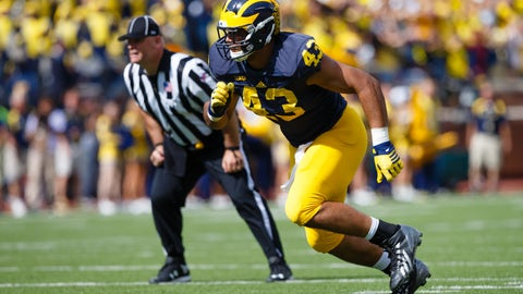Baltimore Ravens: DE Chris Wormley (3rd round, No. 74)