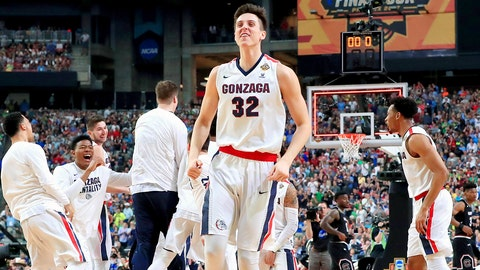 Gonzaga: Get another big game from Zach Collins