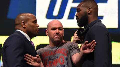 Daniel Cormier (19-1) vs. Jon Jones (22-1)