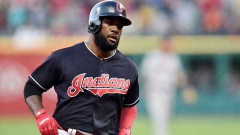 Abraham Almonte placed on the 10-day DL with right biceps strain