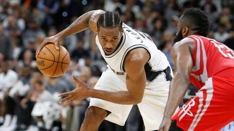 San Antonio Spurs vs. Houston Rockets