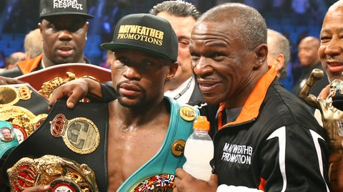 VIDEO: Floyd Mayweather Sr. says Conor McGregor will 'get whooped' by his son