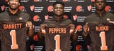Browns top draft picks get jersey numbers