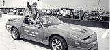 Wildest of wild 'Dega times topped by stolen pace car