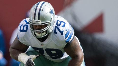 Dallas Cowboys: Right tackle