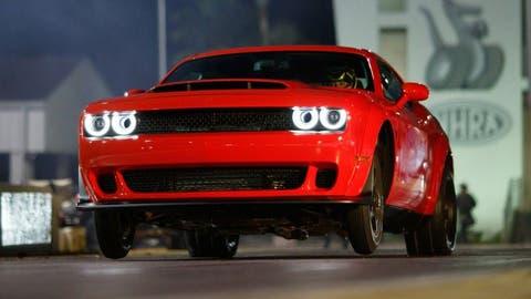 2018 Dodge Challenger SRT Demon: 808 hp