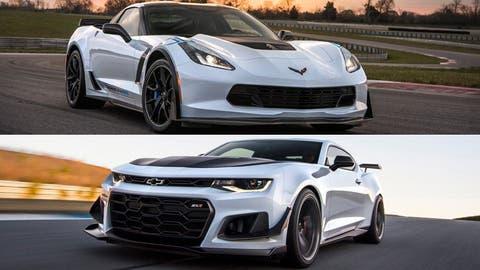 2018 Chevrolet Corvette Z06/Camaro ZL1: 650 hp