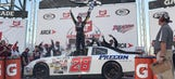 Justin Haley wins his first superspeedway race at Talladega