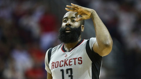 James Harden goes for 23 points, 12 assists